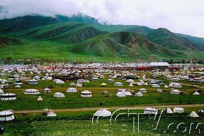 玉树藏族自治州,位于青海省的西南部