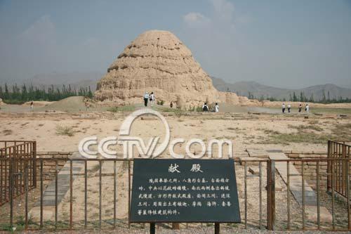 """西夏王陵:神秘的""""东方金字塔"""""""