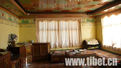 藏式装修 客厅豪华